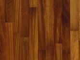 Dřevěná podlaha Steirer Parkett 3-parkety Iroko/Kambala lak