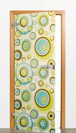 Ukázka skleněných dveří