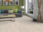 Laminátová plovoucí podlaha Haro Tritty 75 Dub struktur bílý