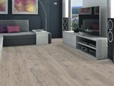 Laminátová plovoucí podlaha Haro Tritty 100 Grand Via 4V Dub antic šedý